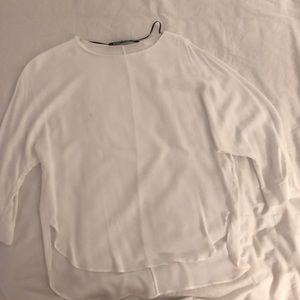 A white blouse